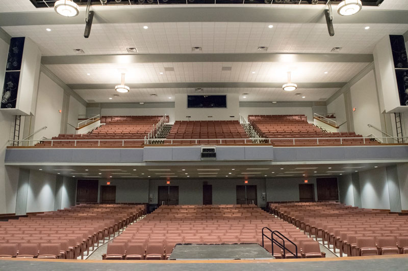 CHS Auditorium from the stage