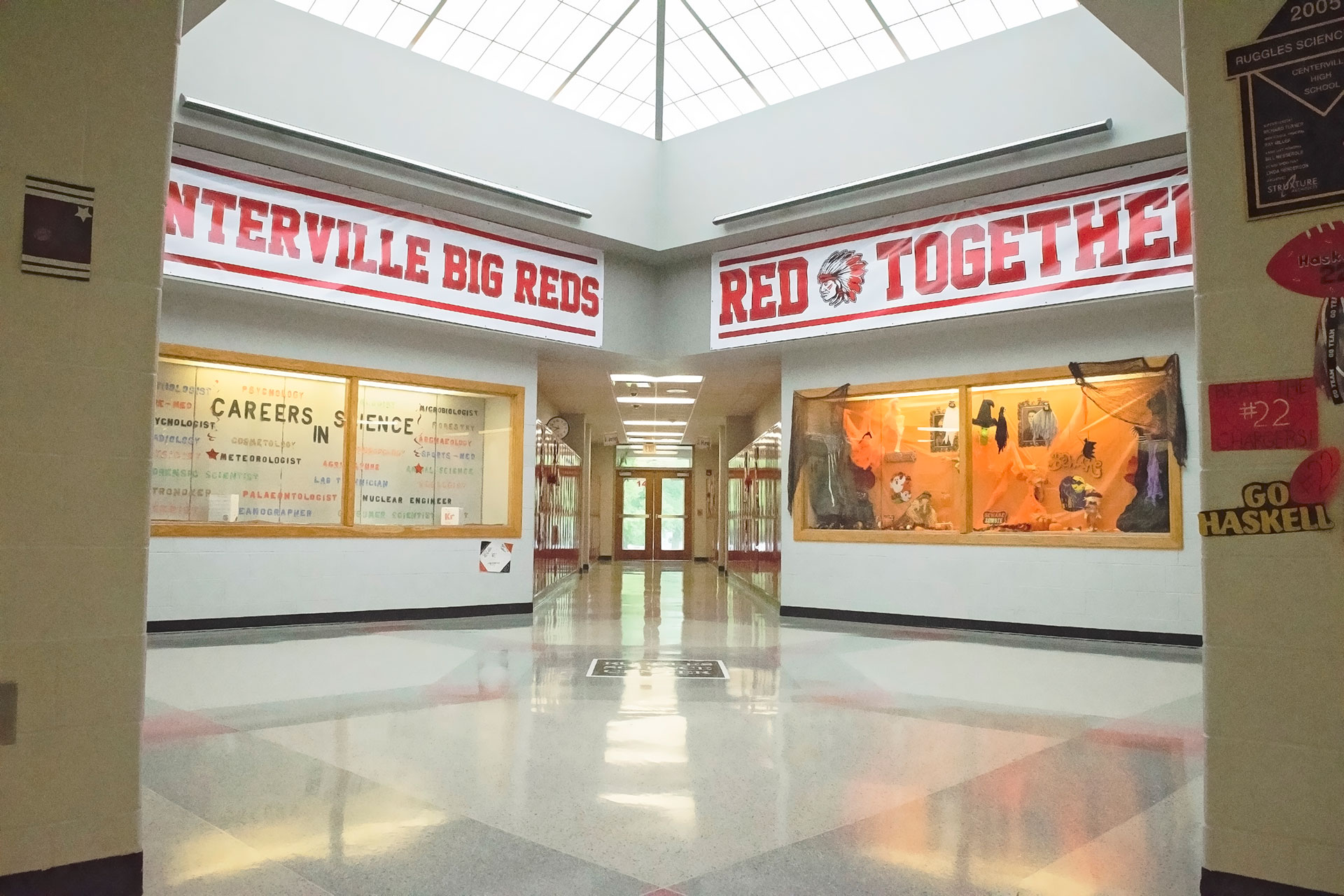 Centerville High School Atrium
