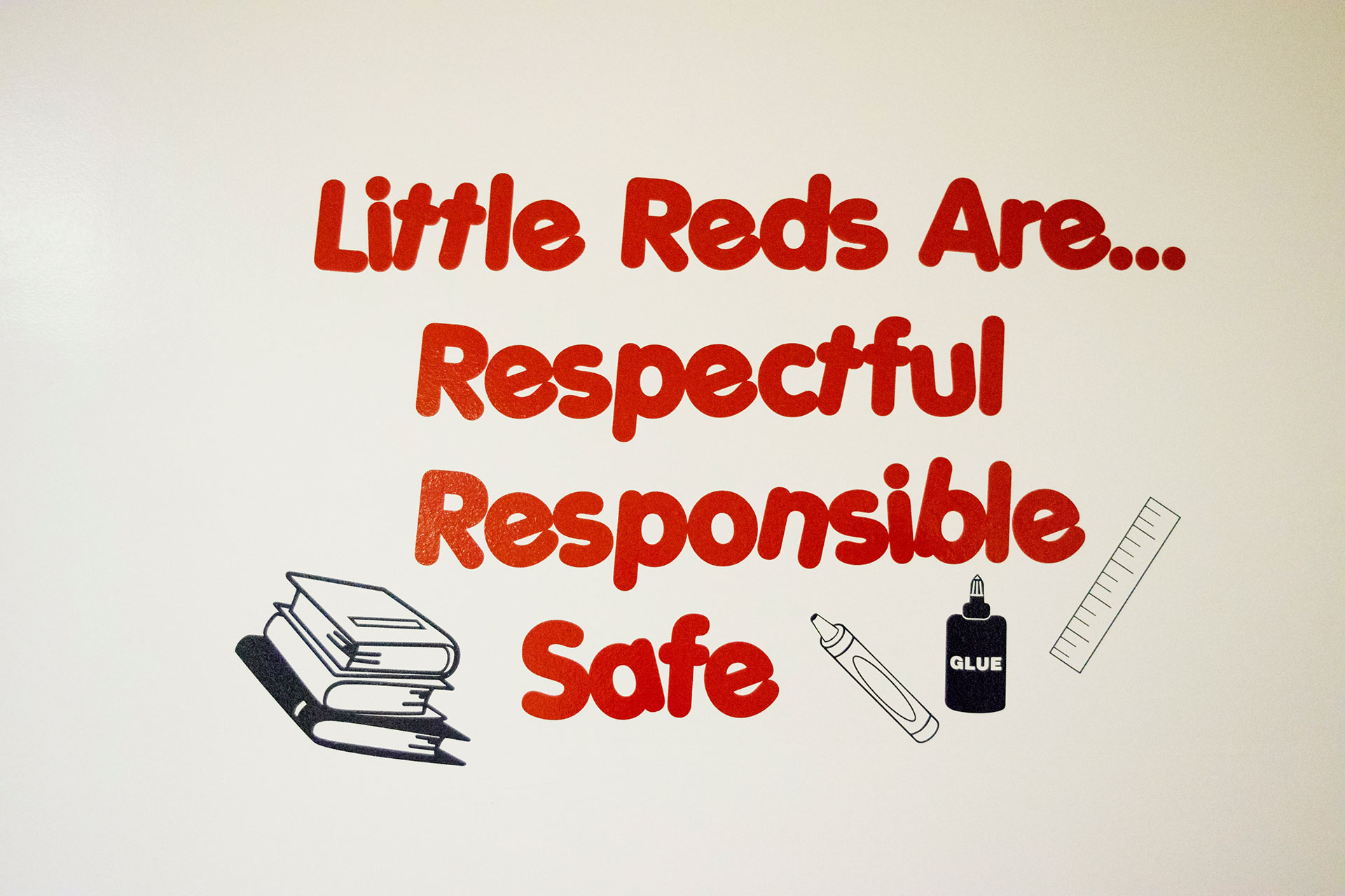 Little Reds Are Respectful